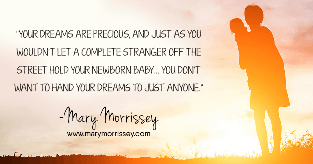 Do you have negative naysayers in your life — people who may be trying to discourage you from pursuing your goals and dreams? How do you handle this type of negative criticism, so that you can maintain your happiness and positive thinking, and keep moving forward toward what it is that you would truly love? Find out more tips from Mary Morrissey