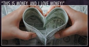 is it wrong to love money heart