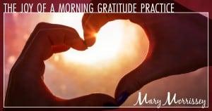 morning gratitude practice