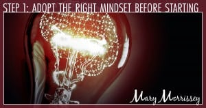 completing a project mindset