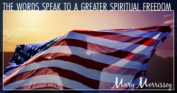 mary morrissey united states flag