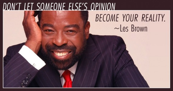 les brown quote opinion
