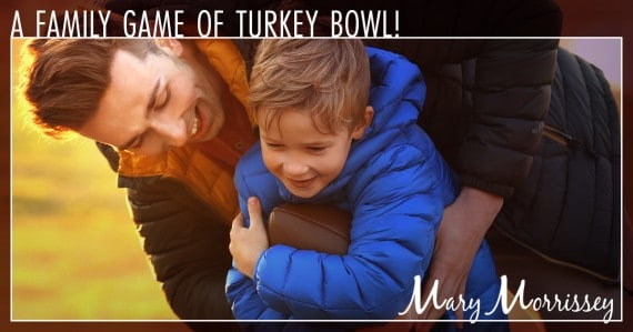 thanksgiving tradition turkey bowl mary morrissey