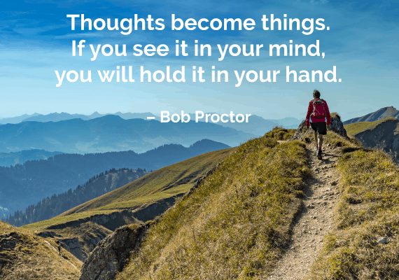 law of attraction quote bob proctor