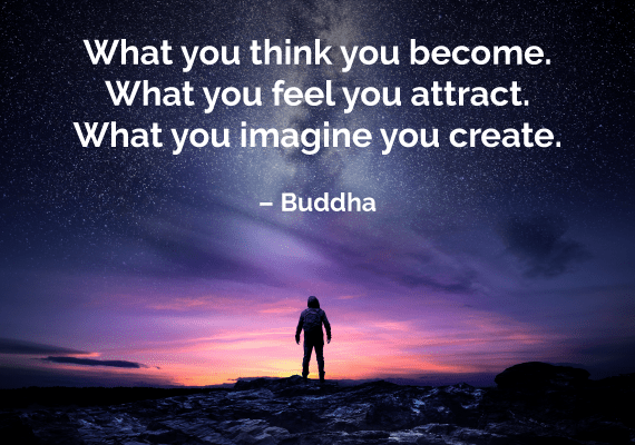 law of attraction quote buddha