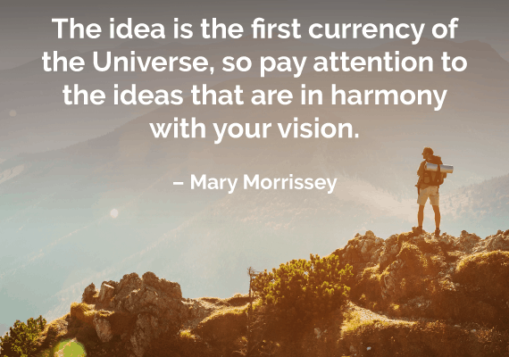 law of attraction quote mary morrissey