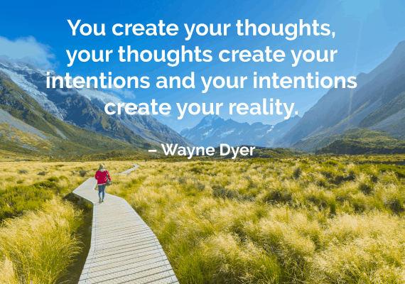 law of attraction quote wayne dyer