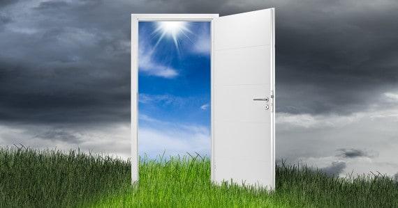 Rosh Hashanah doorway
