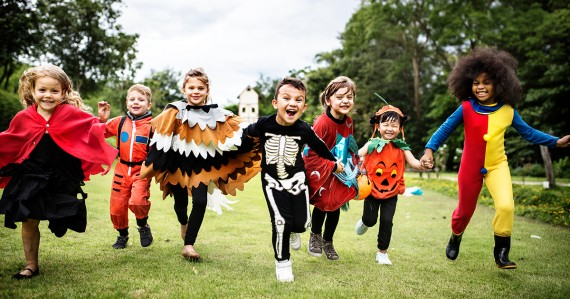 super cute kids in amazing halloween costumes