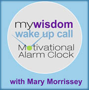 The Wisdom Wake Up Call Alarm Clock system with Mary Morrissey